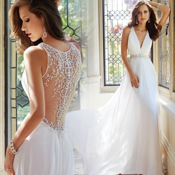Свадебные платья вечернего типа