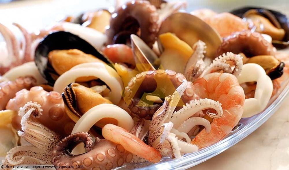 Фото рецепт салатов из морепродуктов