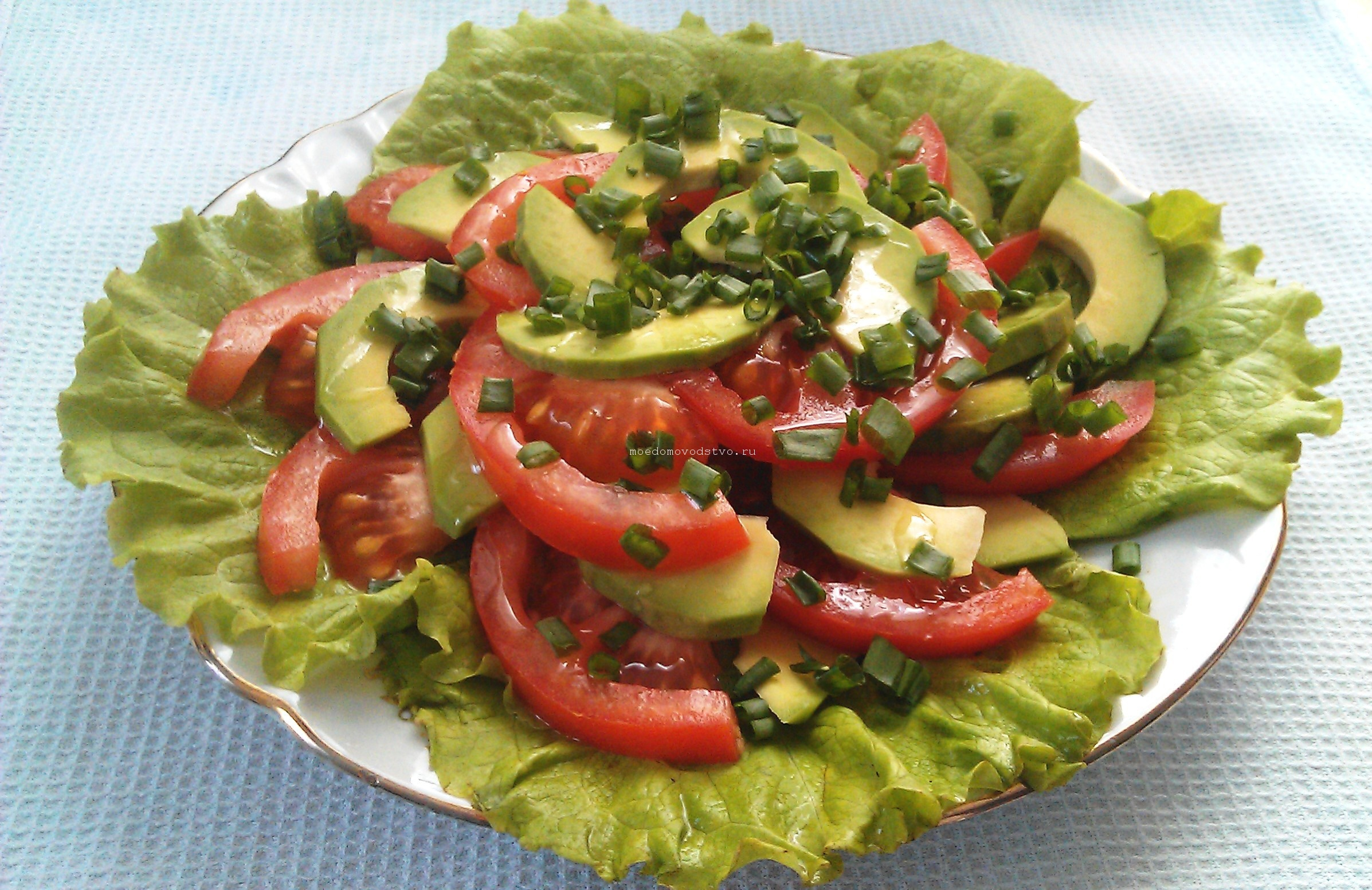 Салаты из авокадо рецепты с