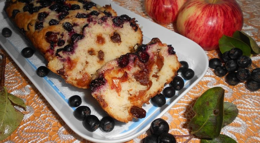 Пирог с изюмом и яблоками рецепт пошагово в духовке