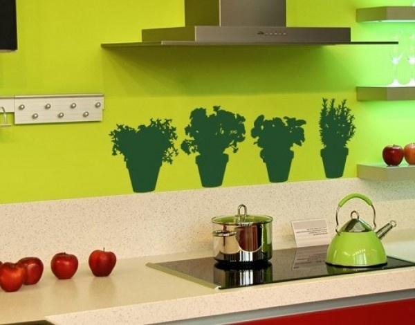 Как украсить стены на кухне своими руками фото
