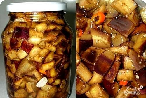 Грибочки из баклажанов на зиму рецепты с пошагово