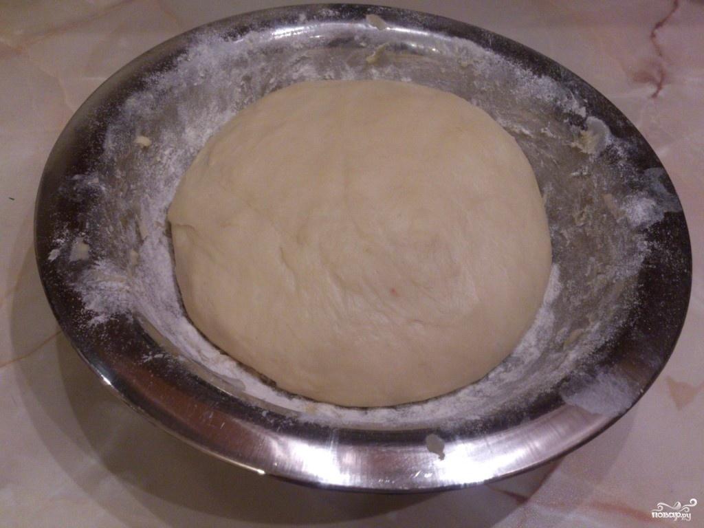 Тесто на кефире для пиццы пошагово
