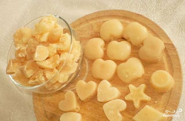 Как приготовить конфету из сахара с молоком
