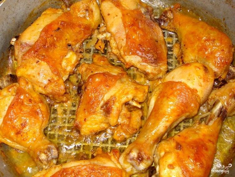 Курица в банке в духовке рецепт с пошаговым