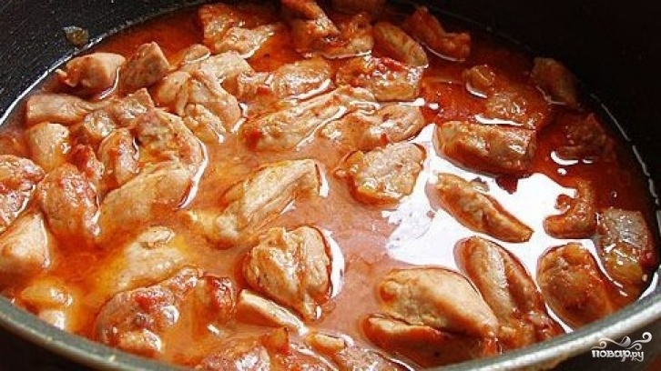 Поджарка из говядины рецепт пошагово