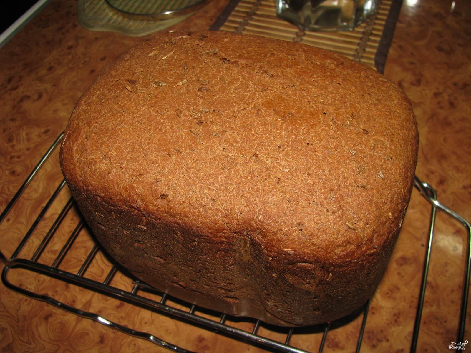 Хлеб ржаной в хлебопечке рецепты с фото пошагово
