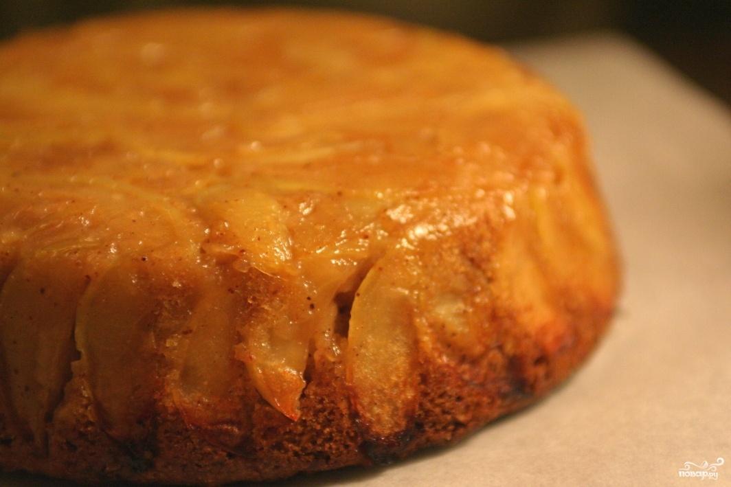 Пирог с замороженными яблоками в духовке рецепт с фото пошагово