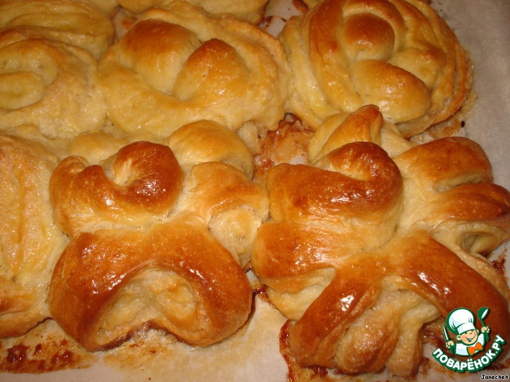 Рецепт пошаговый с фото булочек