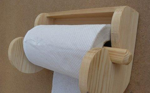 Полки для туалетной бумаги своими руками