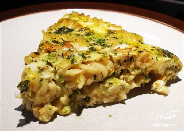 Рецепт запеканка макароны с яйцом