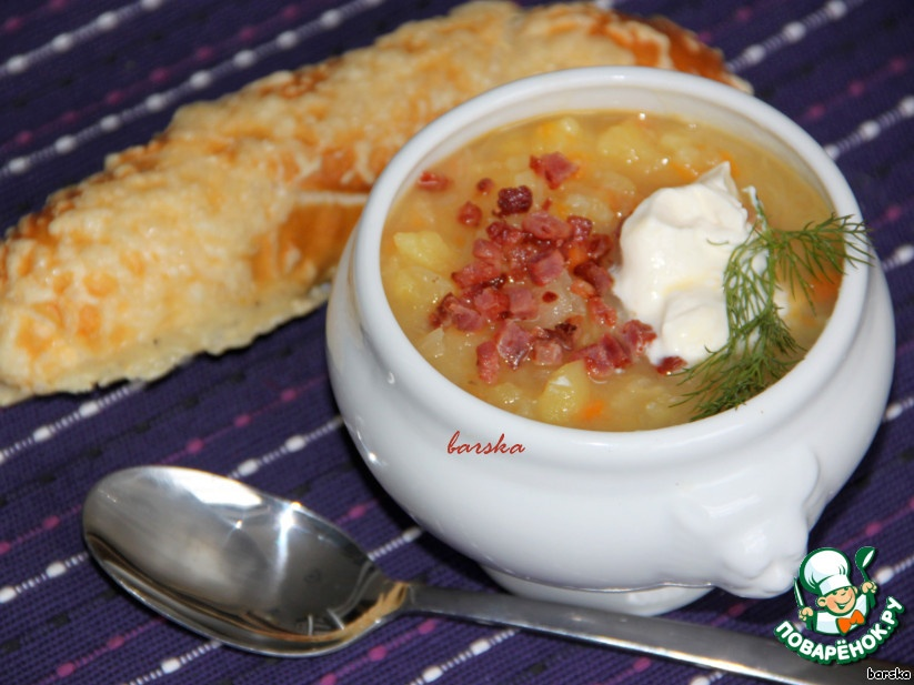 Суп из капусты квашеной рецепт с пошагово в