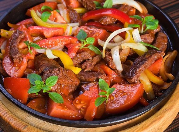 Фахитос из свинины пошаговый рецепт с