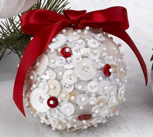 Новогодние шары своими руками украсить