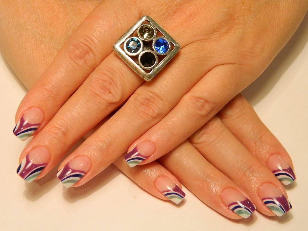 Дизайн ногтей под гелем