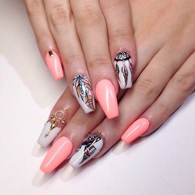 Фото дизайн ногтей белый френч с золотом