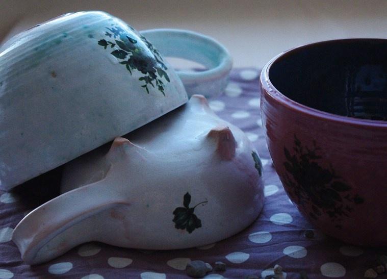 Посуда из керамики своими руками