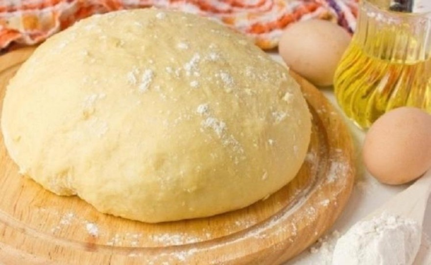 Дрожжевое тесто на кефире рецепт с пошагово
