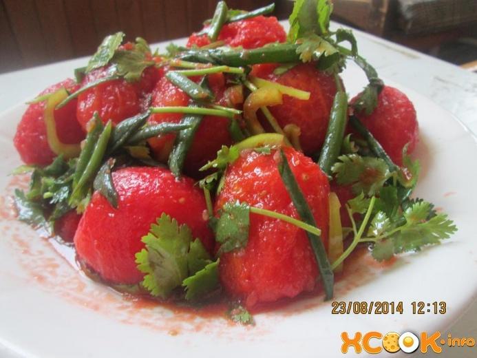 Салаты рецепты простые и вкусные из помидоров и огурцов
