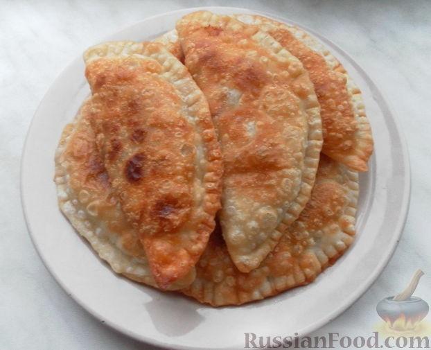 Рецепт чебуреков из фарша