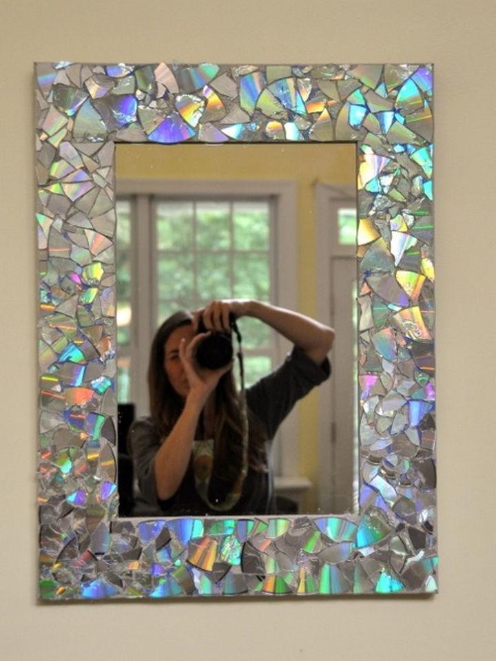Изделия из зеркала своими руками
