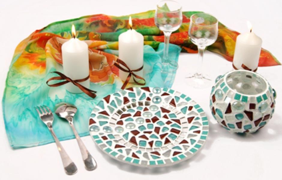 Декорация тарелок своими руками