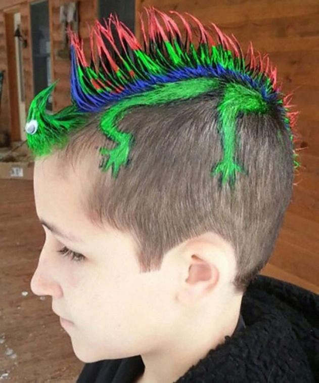 Креативные стрижки подростку