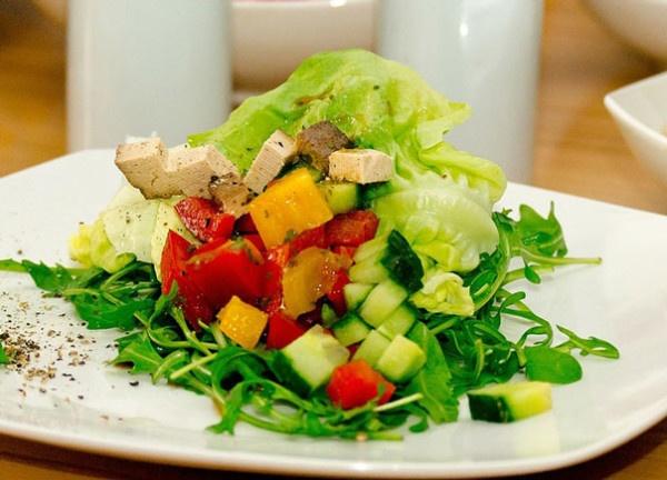 Ананас с курицей салат классический с фото пошагово