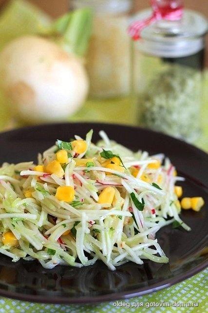 Салат из репы дайкон