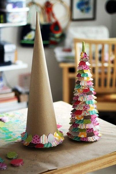Новогоднее детское творчество своими руками