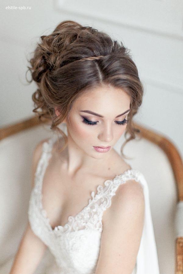 Фото прически на венчание