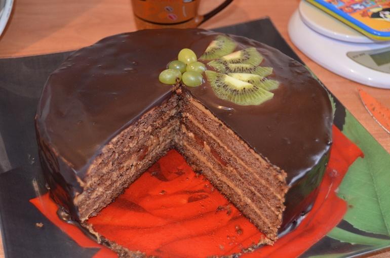 Бисквитный шоколадный торт рецепты с пошагово