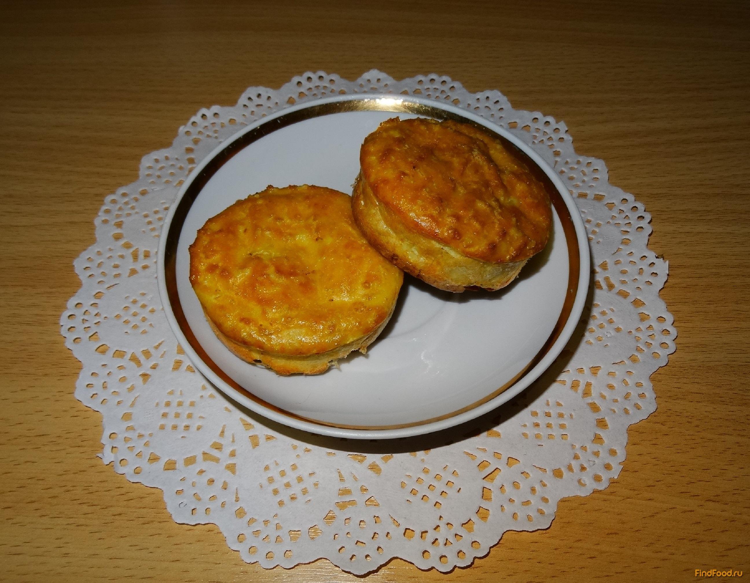 Диетический творожный кекс в духовке с фото