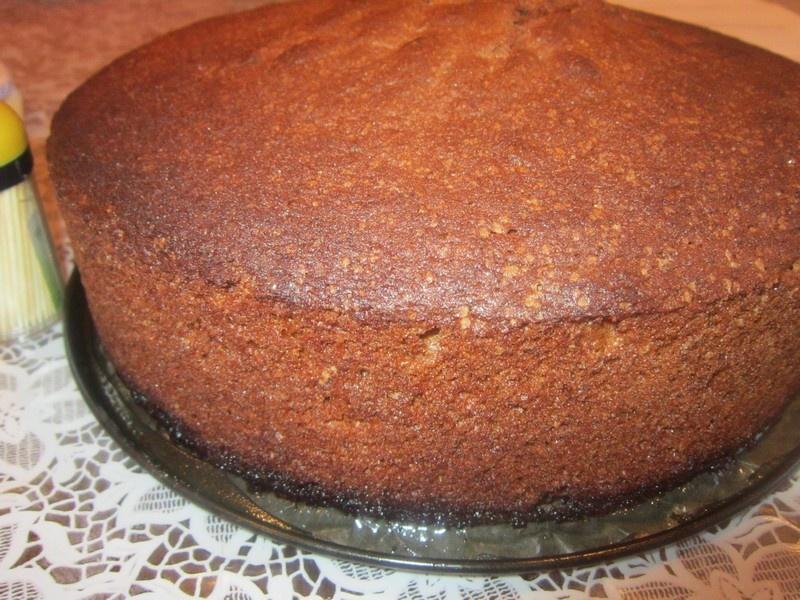 Шоколадный бисквитный пирог в мультиварке рецепты с фото