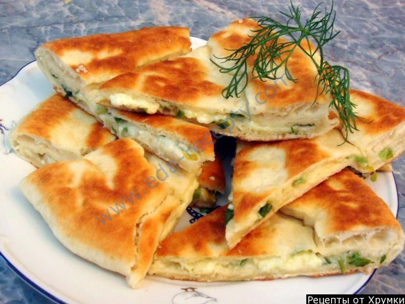 Хачапури с сыром рецепт пошагово на сковороде
