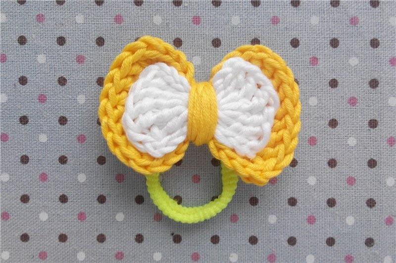 Детское вязание резиночки