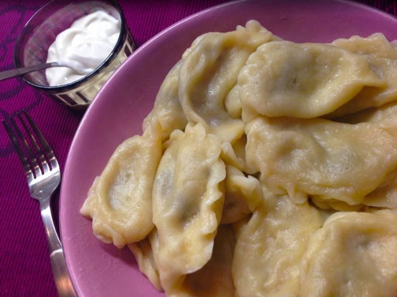 Рецепт вареников с картошкой с пошагово