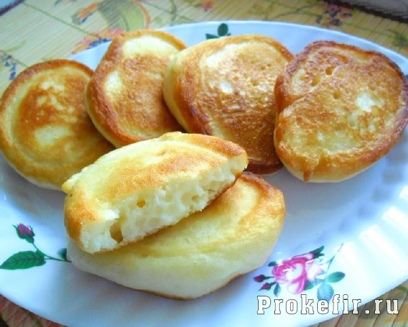 Оладьи на сметане и кефире пышные рецепт с фото пошагово