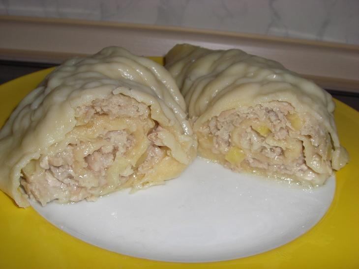 Ленивые манты рецепт пошагово в духовке