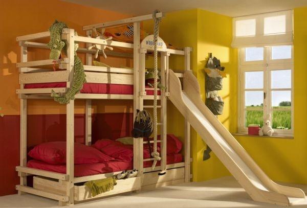 Необычные двухъярусные кровати