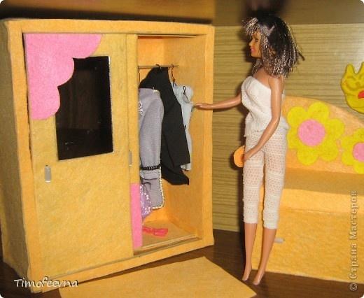 Как сделать шкаф своими руками для куклы барби видео