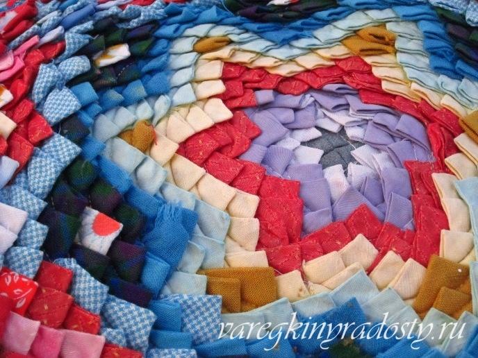Лоскутные коврики