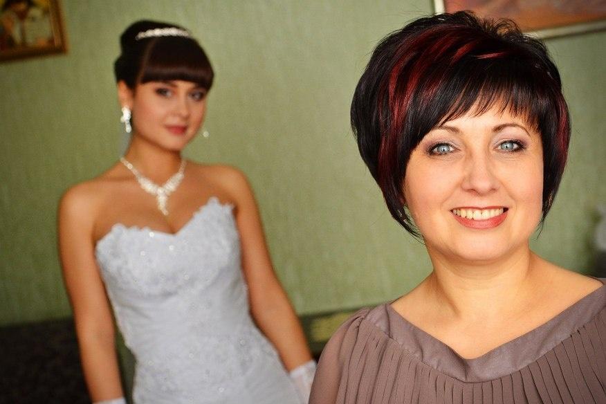 Фото прически для матери невесты
