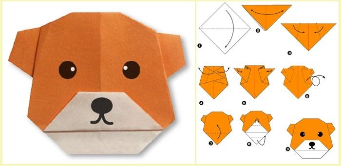 Оригами из бумаги поэтапно своими руками для начинающих