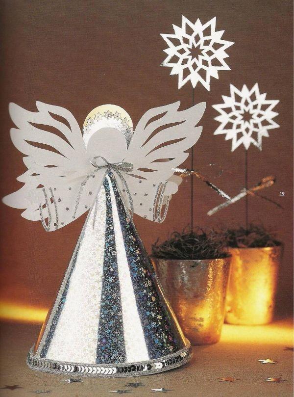 Новогодние ангелочки поделки своими руками