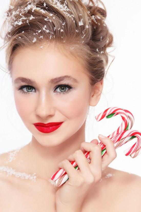 Стрижки и макияж на новый год