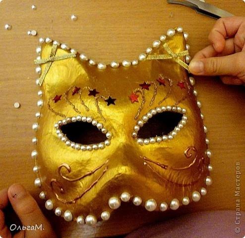 Как своими сделать новогоднюю маску своими руками