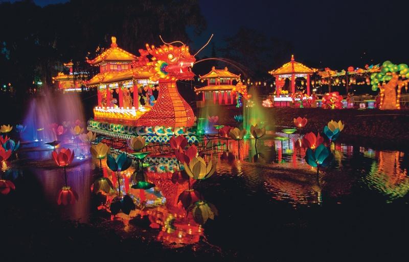 Как проводят новый год китае