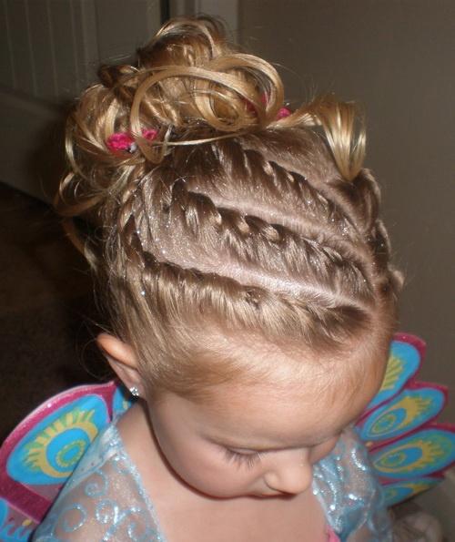 Фото детских причёсок на утренник