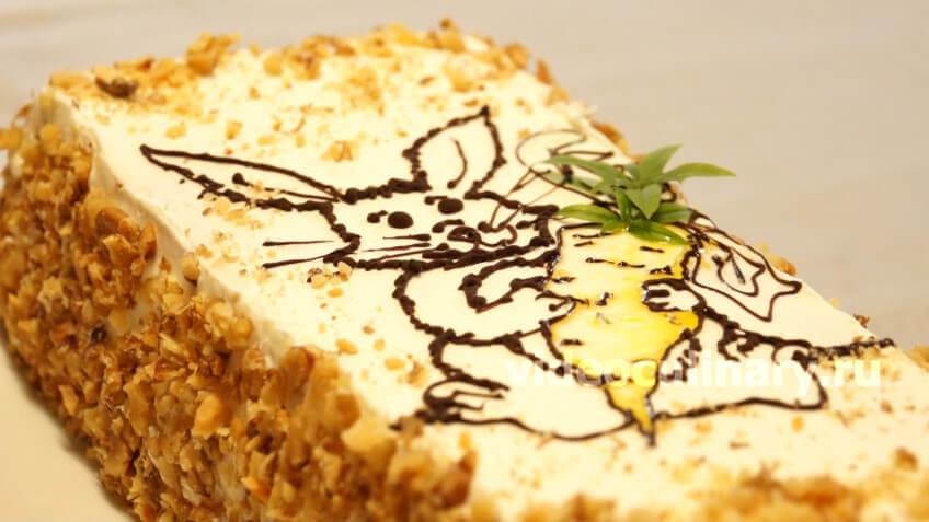 Морковной торт от александра селезнева